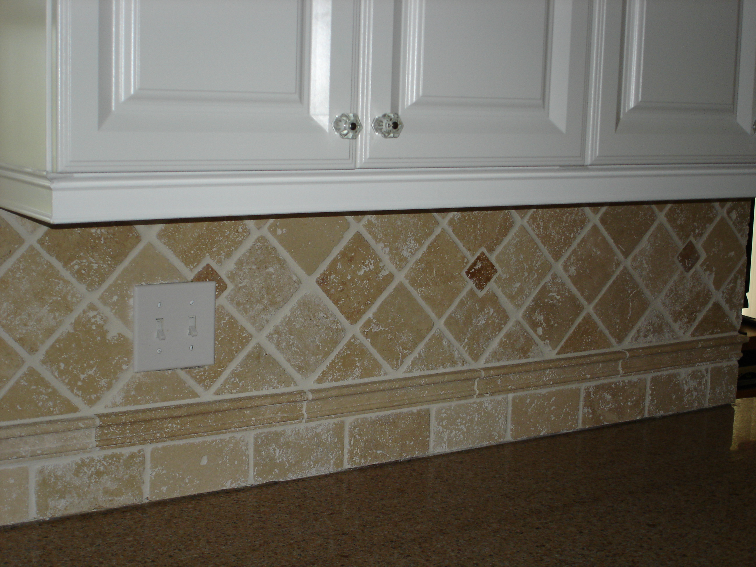 Tile backsplashe central nj jackson freehold colts neck for Kitchen backsplash design gallery