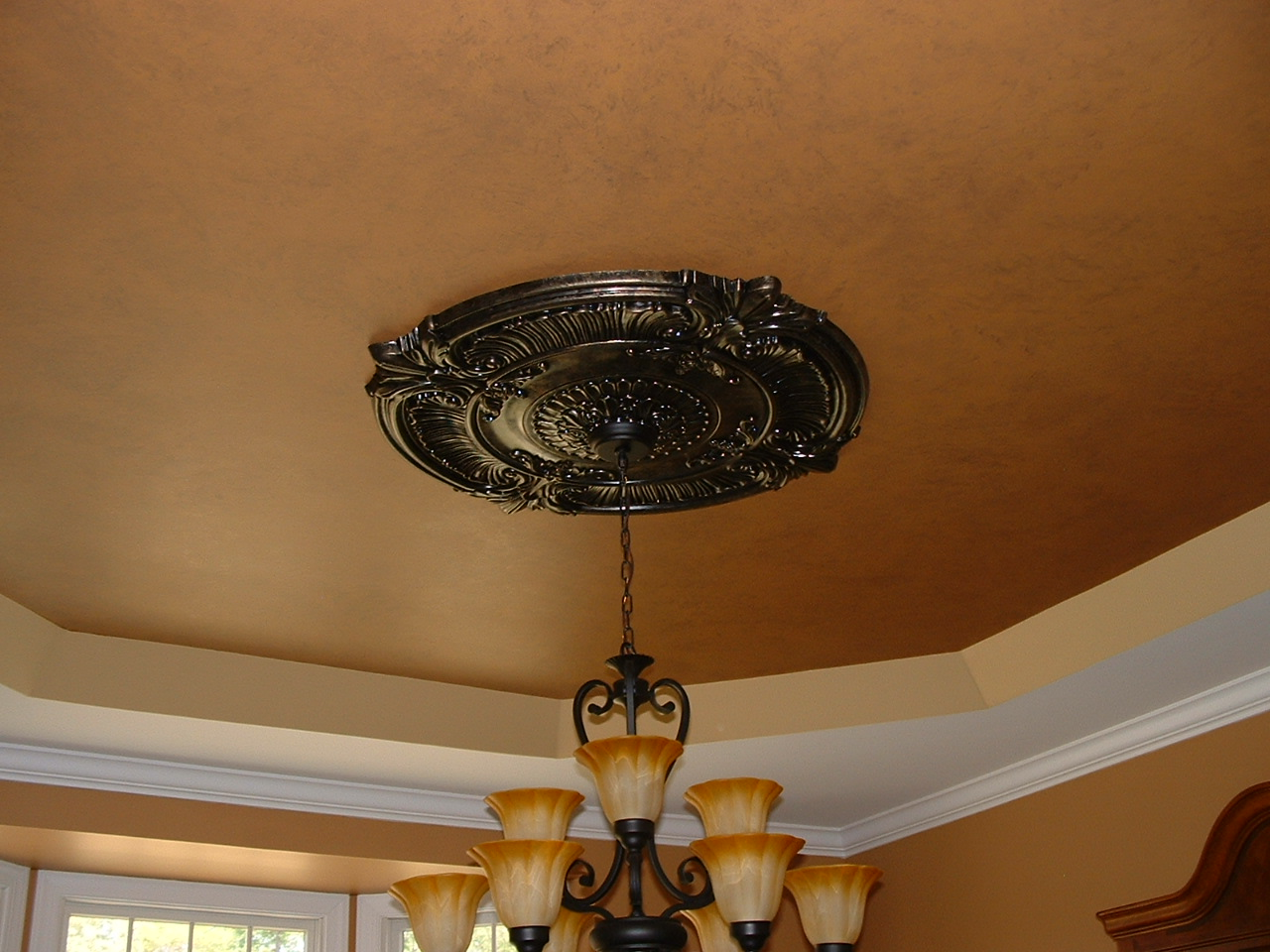 Ceiling medallions custom faux ceiling medallions central nj click on any picture below to enlarge them ceiling medallion arubaitofo Image collections